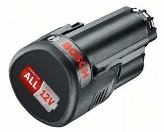 Изображение Аккумуляторная батарея Li-ion BOSCH PBA 12 В, 2,5 А-ч 1600A00H3D