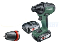 Изображение Аккумуляторный шуруповерт Bosch AdvancedDrill 18 06039B5001