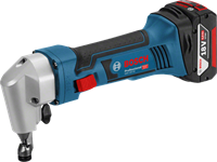 Изображение Аккумуляторные высечные ножницы BOSCH GNA 18V-16 Professional 0601529500