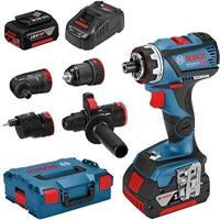 Изображение Аккумуляторный шуруповерт BOSCH GSR 18 V-60 FC Set Professional 06019G7100