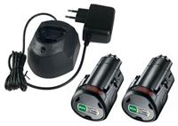 Изображение Базовый комплект BOSCH 2 PBA 12V 1.5Ah + GAL 1210 CV 1600A01L3E