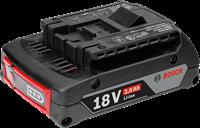 Изображение Аккумуляторная батарея BOSCH GBA 18V 2.0Ah 5 шт 0602494021