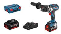 Изображение Аккумуляторный шуруповерт BOSCH GSR 18V-110 C Professional + L-BOXX 136, 2 АКБ + ЗУ 06019G010C